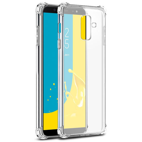 Flexi Shock Air Cushion Case for Samsung Galaxy J8 - Clear